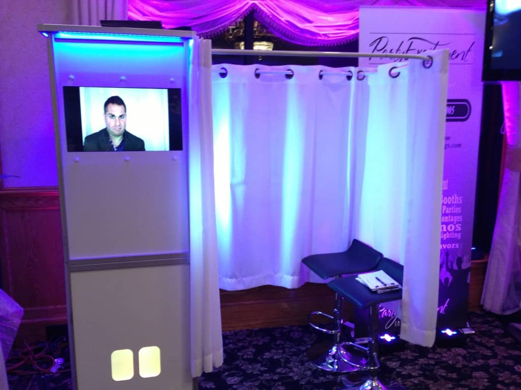 Picture of a Photo Booth Rental unit