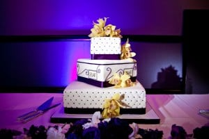 cake pinspot lighting