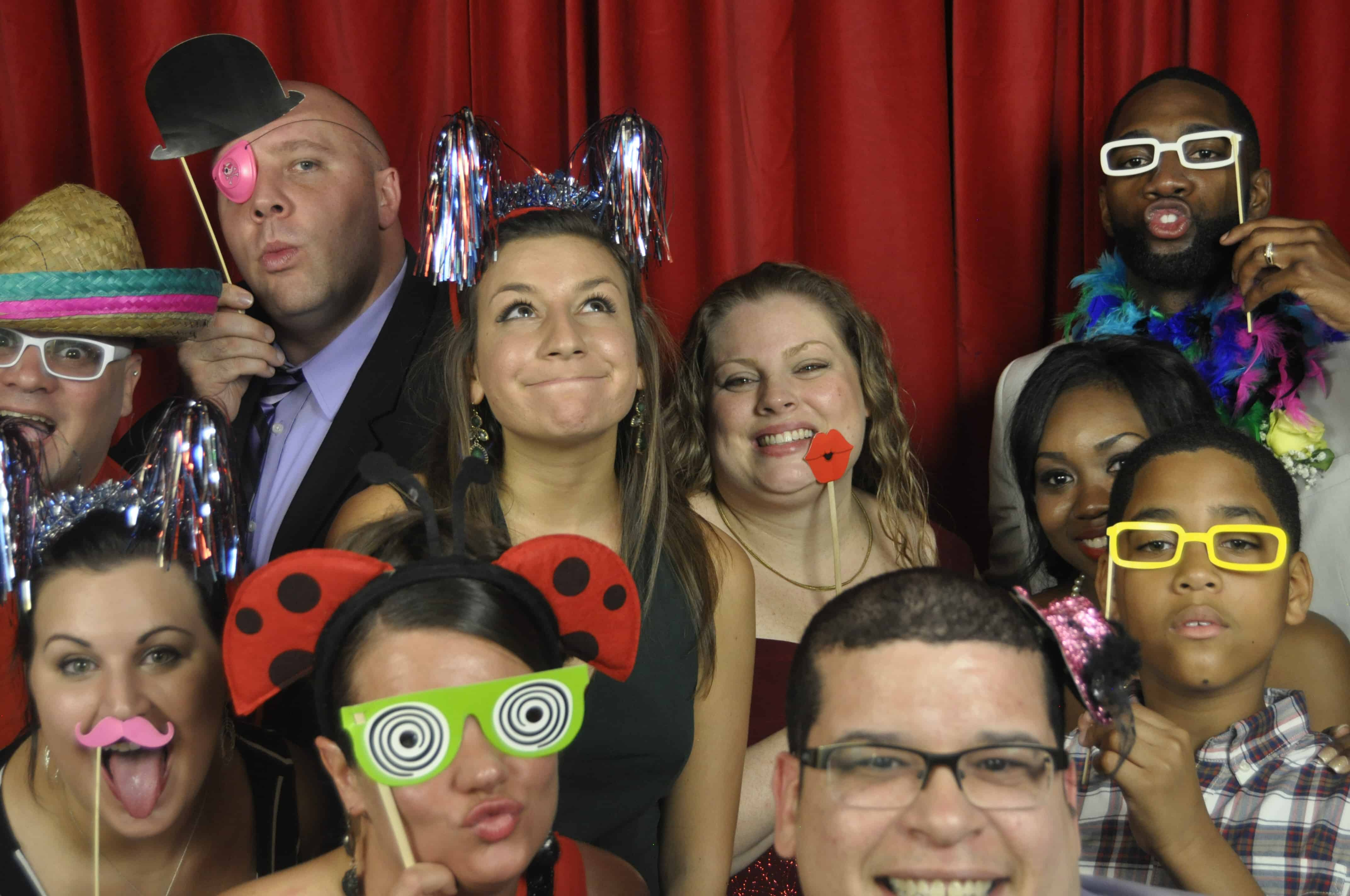 Orlando Wedding Photo booth rental