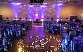 Custom Monogram Lighting Rental